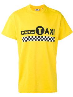 футболка с принтом в стиле такси Gcds