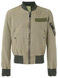 куртка бомбер с бахромой на манжетах R13
