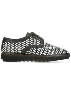 плетеные туфли дерби Dolce & Gabbana