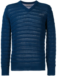 пуловер с отделкой в рубчик Nuur
