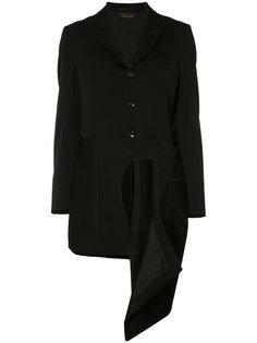 пальто с отрезной панелью Comme Des Garçons