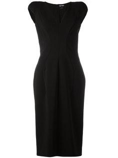 платье с V-образным вырезом Tom Ford