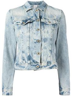 укороченная джинсовая куртка Dondup