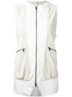 куртка с перфорацией без рукавов Lost & Found Ria Dunn
