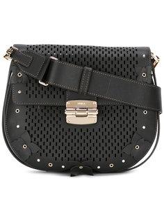 сумка на плечо с резным узором Furla