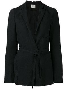 пиджак с завязками на поясе Forte Forte