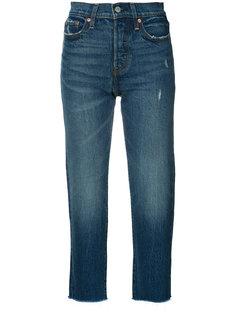 укороченные джинсы с необработанными краями Levis Levis®