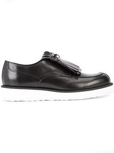туфли на шнуровке Gold Zen Pierre Hardy