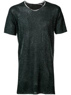 футболка с необработанными краями Label Under Construction