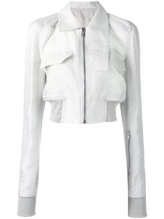 укороченная куртка Glitter Rick Owens