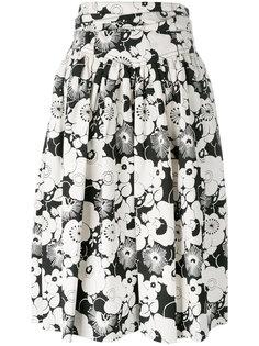 юбка с цветочным узором Marc Jacobs