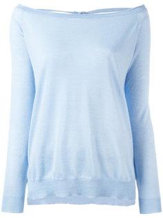 свитер с открытой спиной P.A.R.O.S.H.