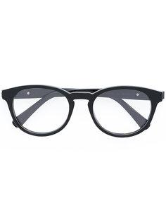 очки в круглой оправе Brioni