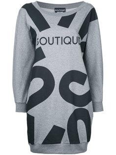 платье-толстовка с рисунком Boutique Boutique Moschino