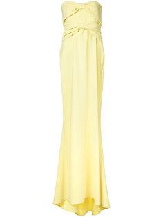 расклешенное вечернее платье Boutique Moschino
