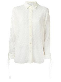 полупрозрачная рубашка со шнуровкой на рукавах Iro