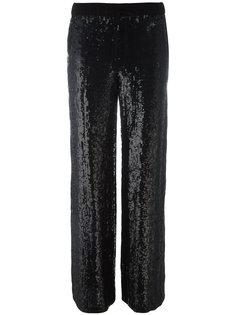 брюки с пайетками P.A.R.O.S.H.