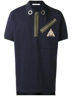 рубашка-поло с молниями Givenchy