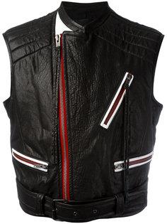 куртка с контрастными молниями Haider Ackermann