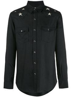 рубашка с принтом звезд Saint Laurent