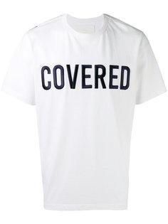 футболка с нашивкой Covered Juun.J