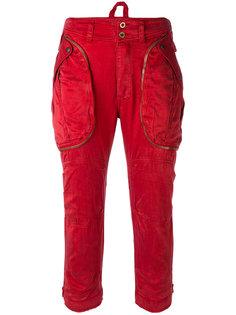 укороченные брюки-карго Faith Connexion