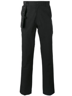 брюки с ремешком и оборками Craig Green