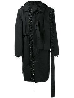 пальто со шнуровкой Craig Green