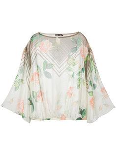 блузка с цветочным принтом Aula