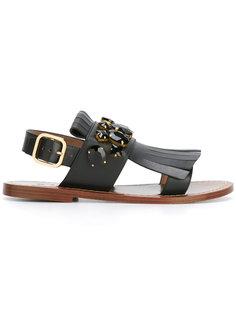 декорированные сандалии Marni