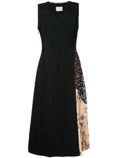 платье мини с плиссировкой Jason Wu