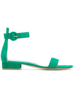 сандалии с ремешком на щиколотке Gianvito Rossi