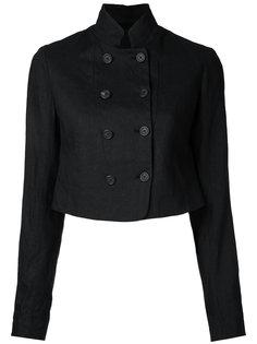двубортный укороченный пиджак Forme Dexpression