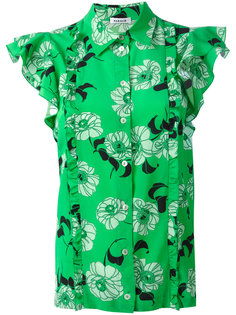 рубашка с цветочным узором P.A.R.O.S.H.