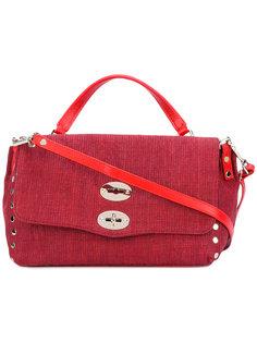сумка на плечо с поворачивающимся замком Zanellato