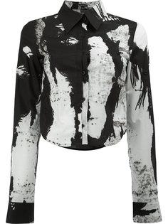 блузка с принтом web Ann Demeulemeester