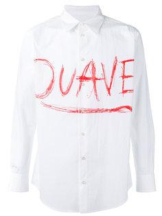 рубашка с принтом Julien David