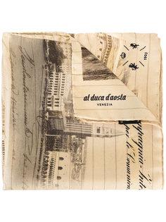шарф с принтом-пейзажем Al Duca D'Aosta 1902