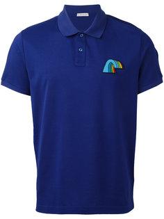 рубашка-поло с радугой Moncler
