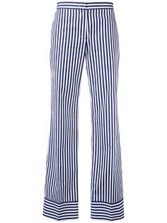 полосатые брюки прямого кроя MSGM