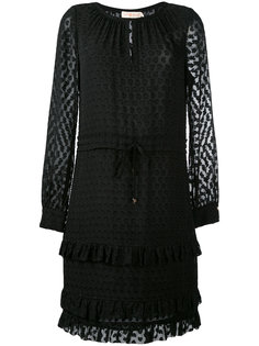 текстурированное прозрачное платье Tory Burch