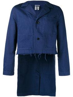 укороченный пиджак Work Ganryu Comme Des Garcons