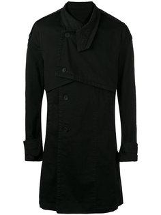 пальто с двойным воротником Julius