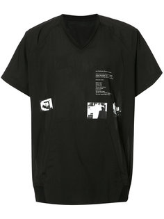 футболка с карманом-кенгуру Julius