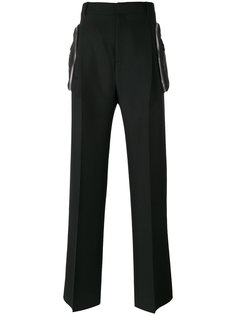 брюки с карманами на молнии Givenchy