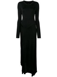 платье с длинными рукавами  Alexander Wang