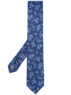 галстук с узором пейсли Fefè