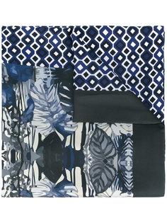 шарф с комбинированным узором Fefè