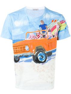 футболка с принтом baywatchers  Moncler