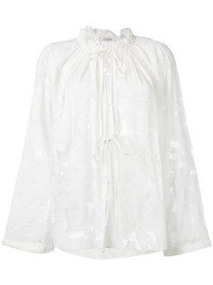 прозрачная блузка с завязками Dorothee Schumacher